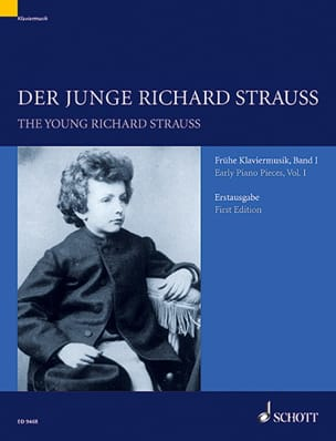 Der Junge Richard Strauss Volume 1 Richard Strauss laflutedepan