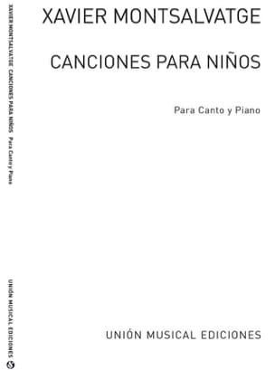 Xavier Montsalvatge - Canciones Para Niños. Archive - Sheet Music - di-arezzo.co.uk