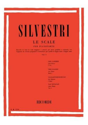 Silvestri - La Escala Por Pianoforte Vol 1 - Partitura - di-arezzo.es