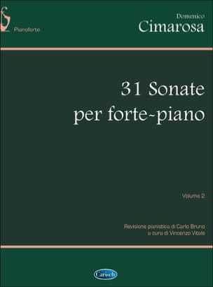 Domenico Cimarosa - 31 Sonates. Volume 2 - Partition - di-arezzo.fr