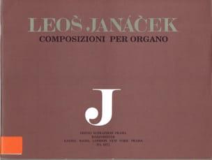 Oeuvre D'orgue Volume 2 - Leos Janacek - Partition - laflutedepan.com
