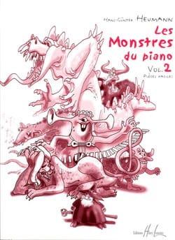 Hans-Günter Heumann - Les Monstres Du Piano Volume 2 - Partition - di-arezzo.fr
