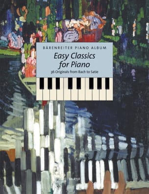 - Easy Classics For Piano - Partition - di-arezzo.fr