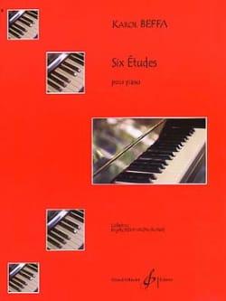 6 Etudes Karol Beffa Partition Piano - laflutedepan