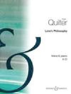 Love's Philosophy Op. 3-1. Voix Moyenne - laflutedepan.com