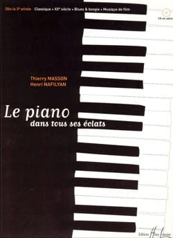 MASSON - NAFILYAN - The Piano in all its splinters - Sheet Music - di-arezzo.co.uk