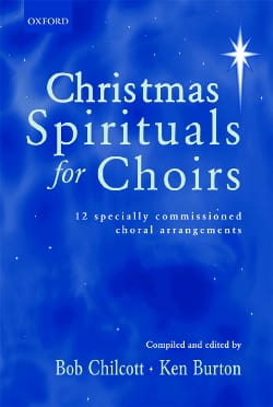 Christmas Spirituals For Choirs Partition Chœur - laflutedepan