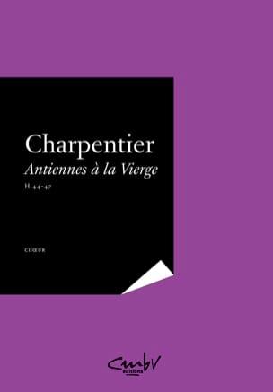 Antiennes A la Vierge CHARPENTIER Partition Chœur - laflutedepan