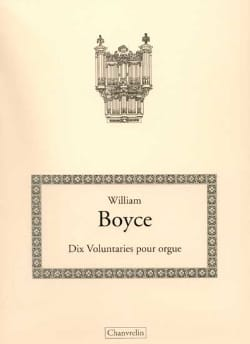 William Boyce - 10 Voluntaries For Organ - Sheet Music - di-arezzo.com
