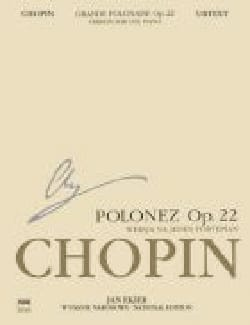 CHOPIN - The Great Polish Opus 22 - Sheet Music - di-arezzo.co.uk