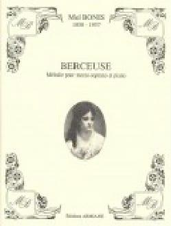 Berceuse - Mel Bonis - Partition - Mélodies - laflutedepan.com