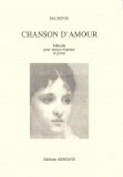 Mel Bonis - Chanson D'amour - Partition - di-arezzo.fr