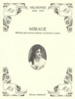 Mirage - Mel Bonis - Partition - Mélodies - laflutedepan.com