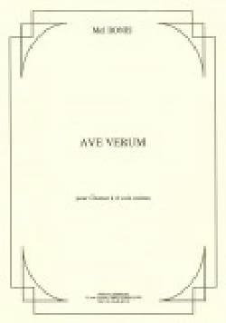 Ave Verum Mel Bonis Partition Chœur - laflutedepan