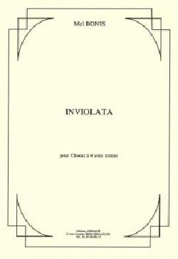 Inviolata op. 163 Mel Bonis Partition Chœur - laflutedepan