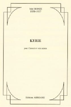 Kyrie - Mel Bonis - Partition - Chœur - laflutedepan.com