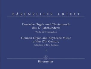 Deutsche Orgel Und Keyboardmusik of 17. Jahrhunderts - Sheet Music - di-arezzo.co.uk