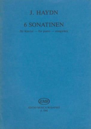 6 Sonatines HAYDN Partition Piano - laflutedepan