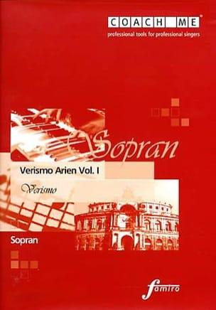 Verismo Arien Volume 1 Soprano. CD - Sheet Music - di-arezzo.com
