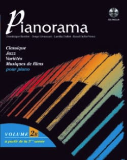 Pianorama 2B Partition Piano - laflutedepan