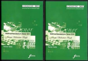 Weihnachtsoratorium BWV 248 Ténor. 2 CD BACH Partition laflutedepan