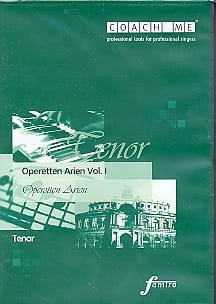 - Operetten Arien Volume 1. Tenor. CD - Sheet Music - di-arezzo.com