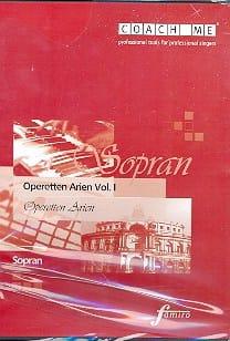 Operetten Arien Volume 1. Soprano. CD - Sheet Music - di-arezzo.com