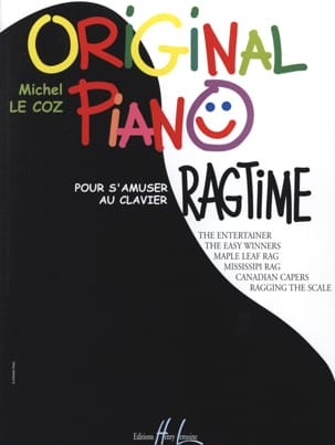 Original Piano Ragtime - Michel LE COZ - Partition - laflutedepan.com