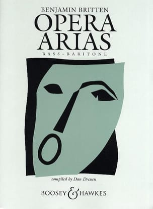 Benjamin Britten - Opera Arias Basse - Partition - di-arezzo.fr