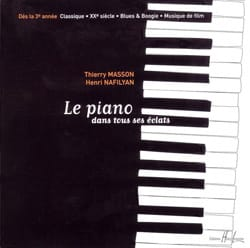 MASSON - NAFILYAN - The Piano In All His Eclats - CD - Sheet Music - di-arezzo.com