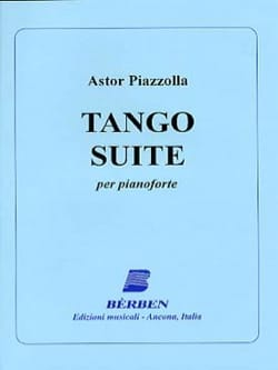 Tango Suite Astor Piazzolla Partition Piano - laflutedepan