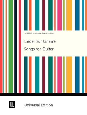 - Lieder Zur Gitarre - Partition - di-arezzo.fr