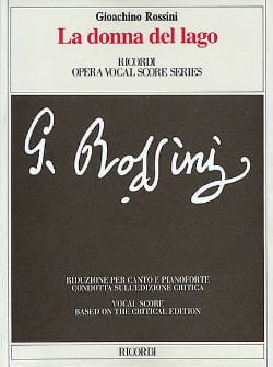 Gioachino Rossini - La Donna Del Lago - Partition - di-arezzo.fr