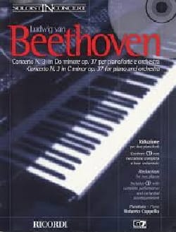 Ludwig van Beethoven - Concerto pour Piano N° 3 Opus 37 En Do Mineur - Partition - di-arezzo.fr