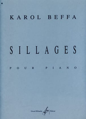 Karol Beffa - Sillages - Partition - di-arezzo.fr