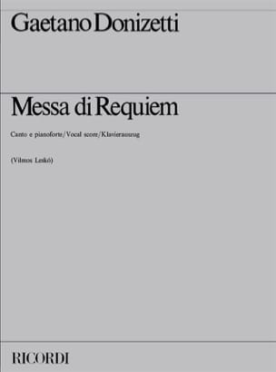 Gaetano Donizetti - Missa from Requiem - Sheet Music - di-arezzo.co.uk
