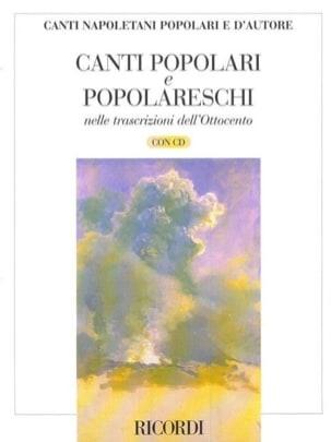 - Canti Napolenati D'autore Dell' Ottocento - Partition - di-arezzo.fr