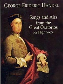 HAENDEL - Canciones y aires de los grandes oratorios. Voz alta. - Partitura - di-arezzo.es