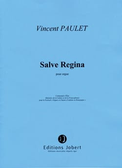 Salve Regina Vincent Paulet Partition Orgue - laflutedepan