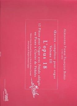 Alexandre Pierre François Boëly - Oeuvres complètes. Volume 3 - Partition - di-arezzo.fr