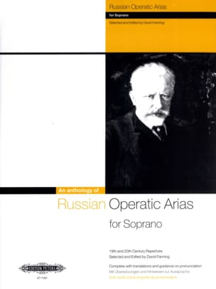 Russian Operatic Arias Soprano - Partition - laflutedepan.com