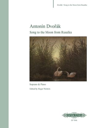 Anton Dvorak - Song To The Moon. Rusalka - Partition - di-arezzo.fr