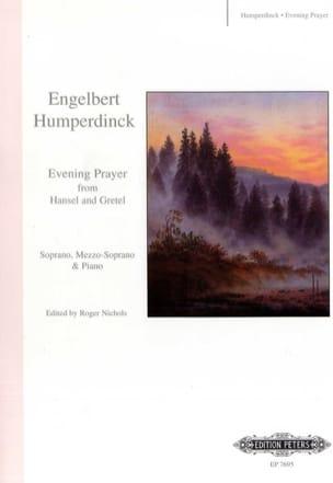 Engelbert Humperdinck - Evening Prayer. Hansel Und Gretel - Sheet Music - di-arezzo.co.uk