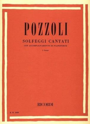 Ettore Pozzoli - Solfeggi Cantati Volume 1 - Sheet Music - di-arezzo.com