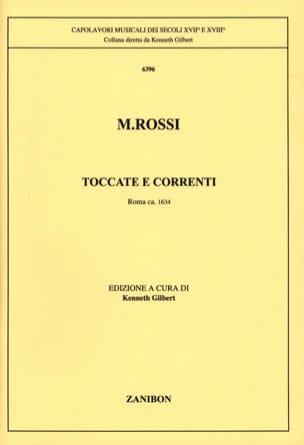 Toccate E Corrrenti - Michelangelo Rossi - laflutedepan.com