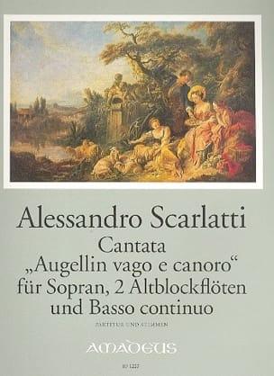 Augellin Vago E Canoro - Alessandro Scarlatti - laflutedepan.com