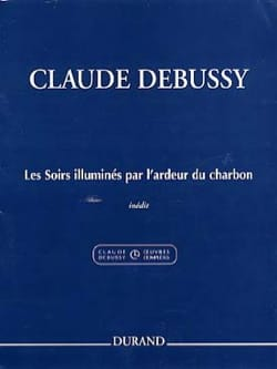 DEBUSSY - Illuminated Evening Lights By The Burning Coal - Sheet Music - di-arezzo.com