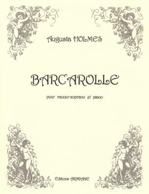 Barcarolle - Augusta Holmès - Partition - Mélodies - laflutedepan.com