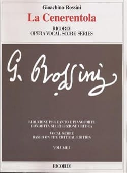 Gioachino Rossini - The Cenerentola. Critical Edition. - Sheet Music - di-arezzo.co.uk