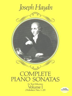 Complete Piano Sonatas Volume 1 HAYDN Partition Piano - laflutedepan